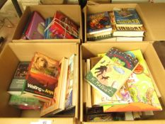Box Containing Approx 10+ Various Assorted Books - Unused.