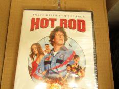 2x Hot Rod DvD - Unused & Packaged.
