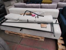 | 1X | MADE.COM NESTOR LARGE SOFA BED | UNCHECKED BUT APPEARS ALL PARTS ARE PRESENT (NO