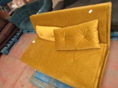 | 1X | MADE.COM YELLOW SOFA BED | NO VISIBLE DAMAGE (NO GUARANTEE) | APA-219 | RRP £329 |