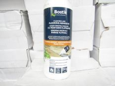 12x Bostik - Floating Laid Flooring Adhesive - 250g Tubs - Unused & Boxed.