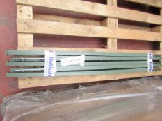 10 Pack of Rutland Green Economy Electric Fencing Poly Posts - New & Good Condition. RRP £25 @