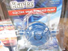 1x CL PUMP CPP3000B DRILL POWERED, This lot is a Machine Mart product which is raw and completely