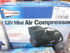 1x SI COMP SWAC1 12V MINI, This lot is a Machine Mart product which is raw and completely
