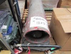 1x CL SPACE HEATER EXR 160, This lot is a Machine Mart product which is raw and completely unchecked