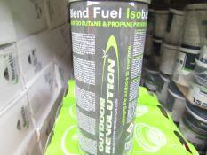 4x Outdoor Revolution - Premium Blend Fuel - Isobutane - Propane - 220g Cans - Unused & Boxed.