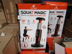 | 2X | NEW IMAGE SQUAT MAGIC | UNCHECKED AND BOXED | NO ONLINE RE-SALE | SKU C5060191467513 | RRP £