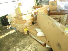   2X   PALLETS OF FAULTY / MISSING PARTS / DAMAGED CUSTOMER RETURNS MADE.COM STOCK UNMANIFESTED  