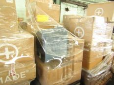 Mixed pallet of Made.com customer returns to include 4 items of stock with a total RRP of