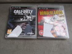 2x PS3 games.