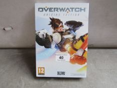 Overwatch Origins editon for PC, unchecked in original packaging