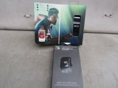 2x Pulse On heart rate monitor watch, works via bluetooth to provide onformation on Training effect,