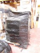 1X PALLET CONTAINING APPROX 15 HOME ELECTRICAL AND FITNESS ITEMS   THIS PALLET IS UNCHECKED AND
