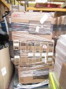 1X PALLET OF 30 CUSTOMER RETURN TVS   PLEASE BE AWARE THERES NO GUARANTEE THAT ANY OF THESE TVS