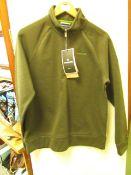 Craghopper Nestor 1/4 zip HZ fleece, new size S, RRP £70