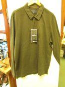 Craghopper Bryson Long Sleeve Polo Shirt, new size XL, RRP £45