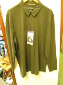Craghopper Bryson Long Sleeve Polo Shirt, new size L, RRP £45