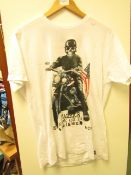1x Fabric8 mens t-shirt, size M, looks new, see picture for design.
