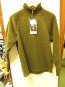 Craghopper Barker 1/4 zip HZ fleece, new size S, RRP £40