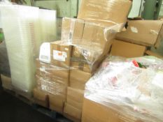 1X PALLET CONTAINING VARIOUS CUSTOMER RETURN GENERAL ITEMS INCLUDING AIR COOLERS & MORE | ALL