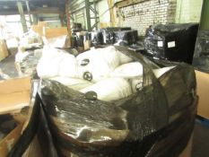 1X PALLET COTAINING PILLOWS, DUVETS & MORE | ALL UNCHECKED RETURNS |
