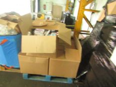 1X PALLET CONTAINING 6 BOXES OF PHARMACEUTICALS - PLEASE BE AWARE ALL OF THESE ARE OUT OF DATE BUT