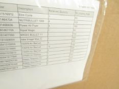 | 1x | PALLET CONTAINING CUSTOMER RETURN STOCK FROM A LARGE ONLINE RETAILER | SEE PICTURE FOR