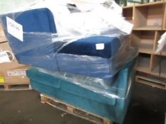 Mixed pallet of Cox & Cox customer returns to include 5 items of stock with a total RRP of