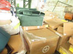 1 x Made.com Mathilde 3 Seater Sofa Oat Weave RRP £999 SKU MAD-SOFMTL001BEI-UK1 TOTAL RRP £500