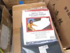 WaterProof Mattress Furniture Elasticated Dust Protector - New & Packaged - Size Unknown - RRP £3.