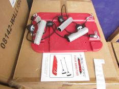 AB rocket Twister Flex Master, Floor Based Resistance Bands Exercise Item - Unused & Packaged -