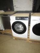 Hisense 9Kg Steam mix washing machine with Dose Assist, damaged plug ans soap drawer front is