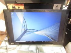 """AOC 15.6"""" USB-C LCD Monitor - Tested Working - RRP £170"""