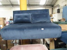 | 1X | MADE.COM 2 SEATER SOFABED | NO MAJOR DAMAGE BUT INCLUDES FEET | RRP £449 |
