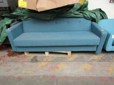 | 1X | MADE.COM CHOU SOFA BED WITH STORAGE | UNCHECKED & HAS NO FEET | RRP £529 |