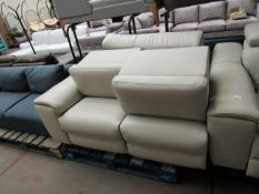 Nicoletti 3 seater leather sofa, may have marks and scuffs but noting too major. This sofa is