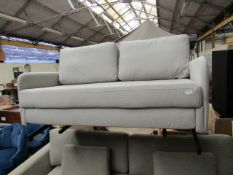 | 1X | MADE.COM 2 SEATER SOFABED | NO MAJOR DAMAGE WITH FEET | RRP CIRCA £449 |