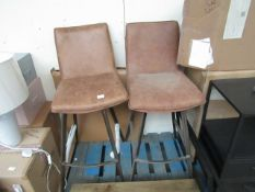 | 2X | COX & COX WILLIAMSBURG HIGH STOOL | BOTH APPEAR TO LOOK IN GOOD CONDITION HOWEVER ONE OF