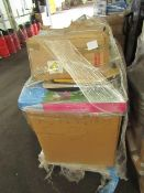 1X PALLET CONTAINING VARIOUS CUSTOMER RETURN GENERAL ITEMS | ALL ITEMS ARE UNCHECKED |