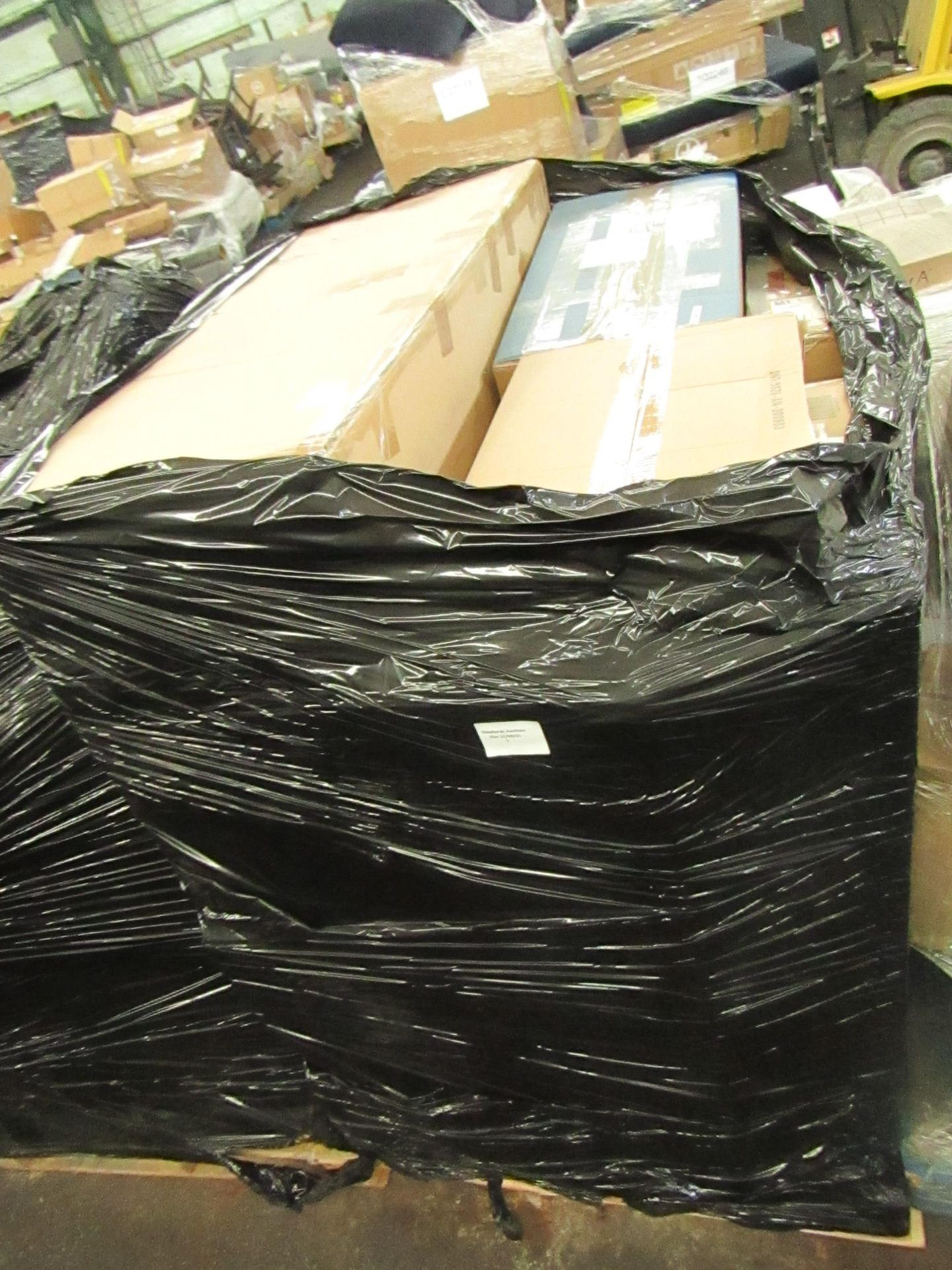 | 1x | PALLET CONTAINING CUSTOMER RETURN STOCK FROM A LARGE ONLINE RETAILER | UNMANIFESTED |