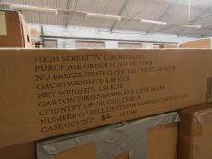 | 2X | NUBREEZE DRYING SYSTEM | UNCHECKED & BOXED | NO ONLINE RESALE | SKU - | RRP £49.99 | TOTAL