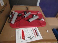 AB rocket Twister Flex Master - Floor Based Resistance Bands Exercise Item - Unused & Packaged - RRP