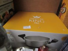   1X   DREW & COLE PRESSURE KING PRO CLASSIC HOB TOP   UNCHECKED & BOXED   NO ONLINE RESALE  