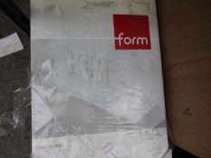 Form - Floating Shelf - White - ( 80 X 23.5 cm ) - Packaging Damaged, May Have Damaged Corners.