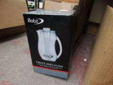 Babz - Fruit Infusion Jug - Unchecked & Boxed.