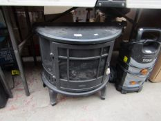 Mistral - Curved Log Effect Stove Fire Place - Electric Powered - Unable To Test Due To No Fuse