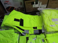 L.Brador - Hi-Vis Work Trousers (Contains Utility Pockets ) - Size 54 - Unused & Packaged.