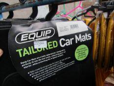 Equip - Fabric Tailored Car Mat Set - Vauxhall Insignia - 2008 Onwards - Unused.