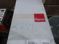 Form - Floating Shelf - White - ( 80 X 23.5 cm ) - Unused & Packaged.