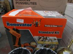| 1X | TWIST A SAW THE RENOVATOR STANDARD KIT | UNCHECKED & BOXED | NO ONLINE RESALE | SKU |